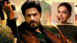 Deepika gaat drie weken filmen met SRK voor Bollywood film 'Pathan'