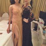 Alaviaa Jaffrey with Jhanvi Kapoor on her birthday
