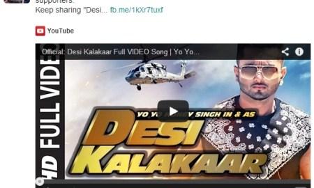 Music Video, Yo Yo Honey Singh, Desi Kalakaar, Sonakshi Sinha, Watch Video