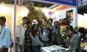 Zee Institute, Creative Art, ZICA, Students, Superhero, Comic Con