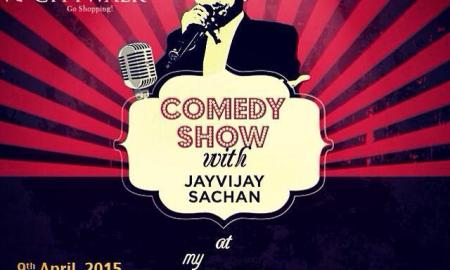 Comedian, Jay Vijay Sachan, Select City Walk