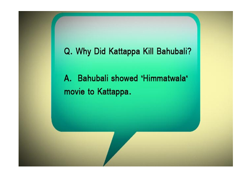 jokes, Baahubali, movie, Social Media