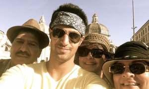 Rati Agnihotri,Holiday,Europe,son,Tanuj