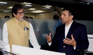 Anand Pandit, Amitabh Bachchan