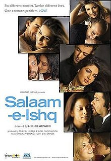 Salaam-E-Ishq Box Office Collection India Overseas