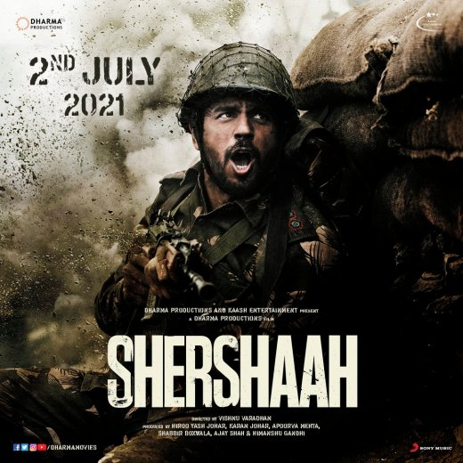 Shershah (2021) Box Office Collection Day Wise India Overseas