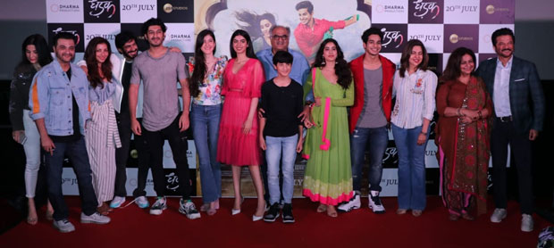 All rumours of Sridevi's sister's estrangement quelled at Dhadak trailer launch