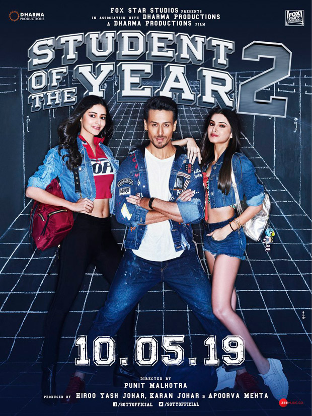 Tiger Shroff, Ananya Panday, year 2 student from Tara Sutaria starrer to be released on May 10, 2019