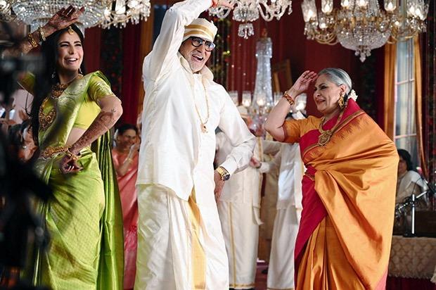 Amitabh Bachchan and Jaya Bachchan become parents to Katrina Kaif for this  wedding shoot, Nagarjuna joins in : Bollywood News - Bollywood Hungama