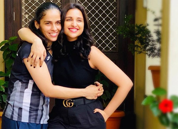 """""""If Saina Nehwal had been present on the sets, I would've been nervous"""", says Parineeti Chopra"""