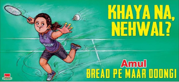 Parineeti Chopra gets Amul's tribute for Saina, says 'your stamp of approval means everything'