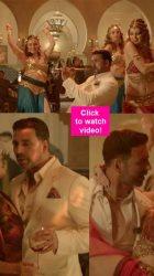 Airlift song Dil Cheez Tujhe Dedi: A suave Akshay Kumar WOOS a pretty Nimrat Kaur to funky Arabic folk tunes!