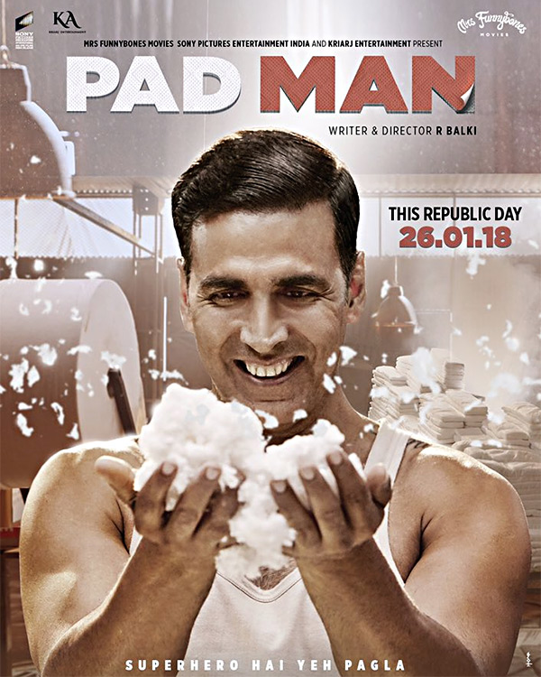 Image result for padman poster