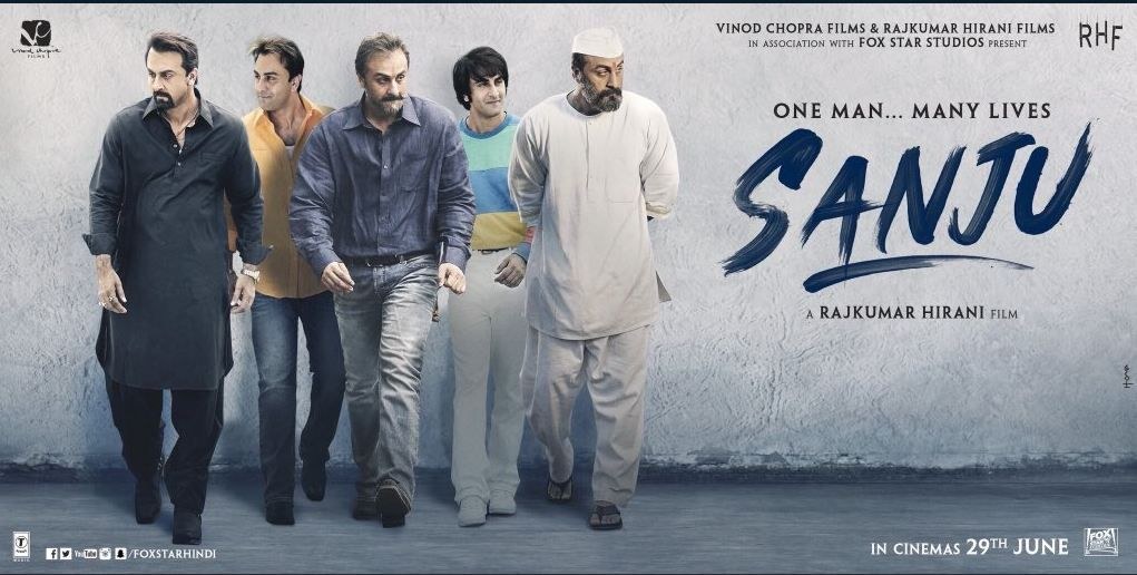 Image result for sanju poster