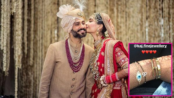 Sonam Kapoor's customised hand mangalsutra has a special connection with hubby Anand Ahuja – view pic