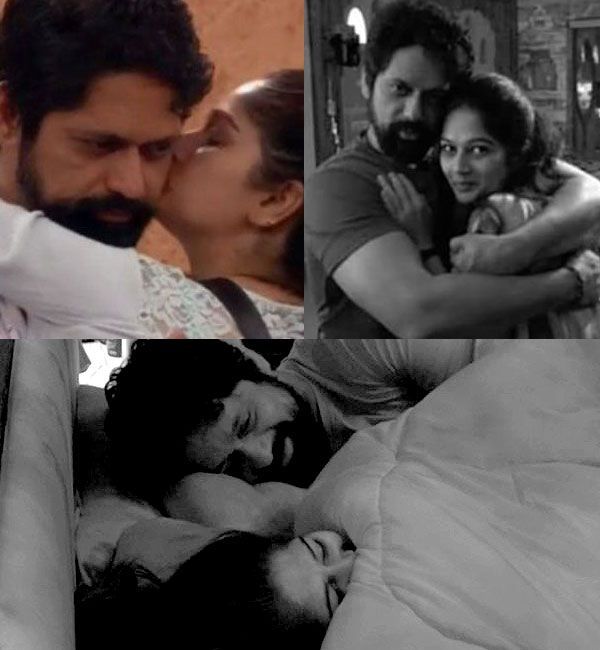 Bigg Boss Marathi: Did these images of Rajesh Shringapore and Resham Tipnis' intimacy result in his early elimination?