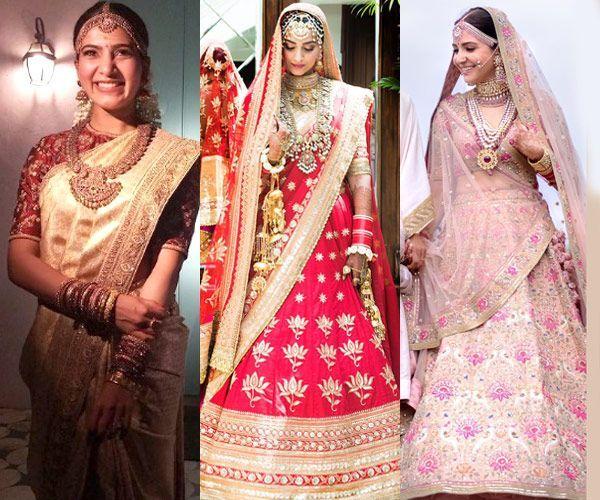 Fans choose Samantha Ruth Prabhu's bridal look over Anushka Sharma and Sonam Kapoor's for their wedding day