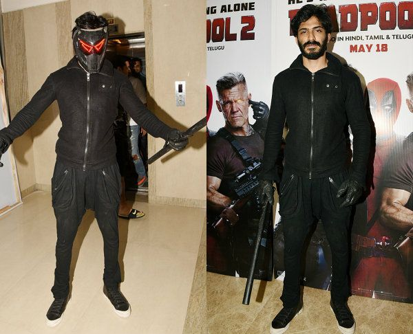 Was Harshvardhan Kapoor trying to steal Deadpool 2's thunder at the screening? View HQ pics