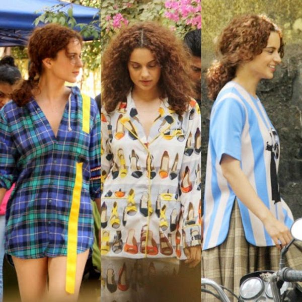 Kangana Ranaut's wardrobe for her next film Mental Hai Kya is just as crazy as the title – view pics