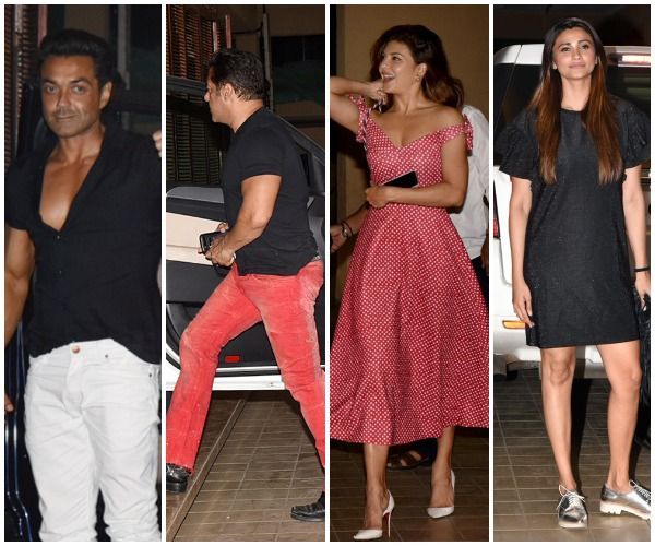 Salman Khan parties hard with Jacqueline Fernandez and Race 3 team after the movie's trailer launch