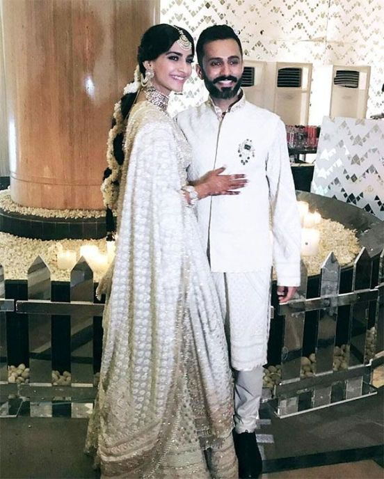 Sonam Kapoor and Anand Ahuja Wedding