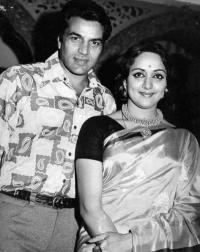 Dharmendra and Hema