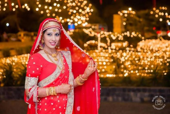 Indian bridal looks: Kashmiri bride