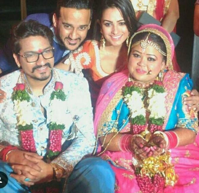 Bharti Singh And Haarsh Limachiyaa Gets Married