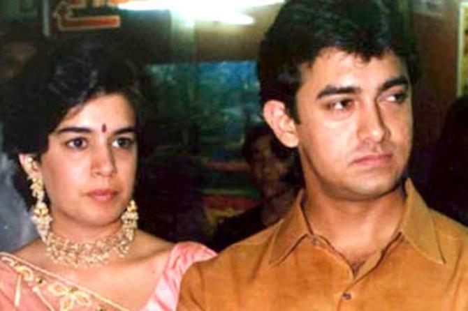 Aamir Khan Reena Dutta