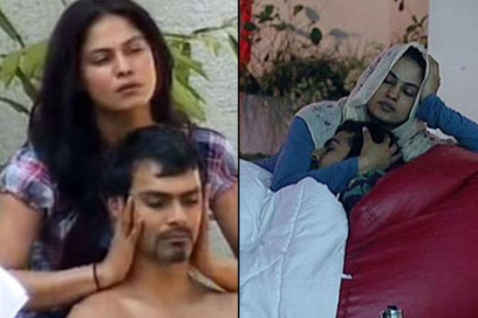Veena Malik and Ashmit Patel