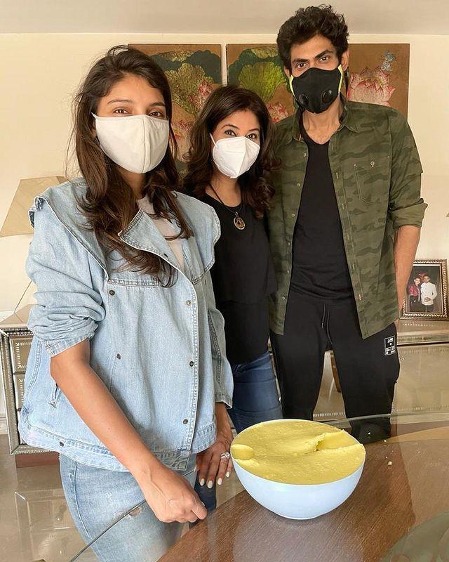 Miheeka Bajaj and Rana Daggubati