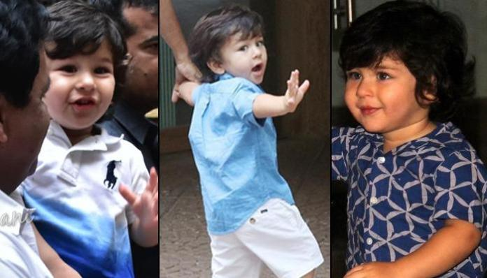 Taimur Ali Khan Dealing With Paparazzi At Young Age Is Perfect Glimpse Of A  Superstar In