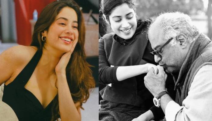 Janhvi Kapoor Shares Unseen Childhood Pictures With Daddy, Boney Kapoor On His Birthday