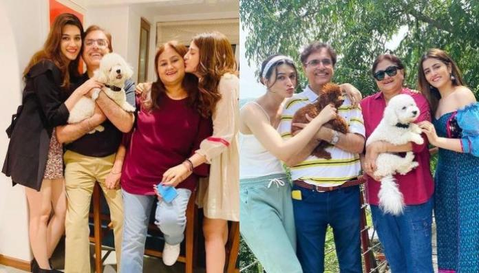 Kriti Sanon Calls Her Mom And Dad The Definition Of 'Happily Ever After' On Their Anniversary