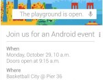 android google event
