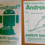 Facebook encourage ses employés à passer sous Android