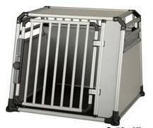 Die optimale Sicherheit bei leichtem Gewicht bietet die Alu-Hundebox.