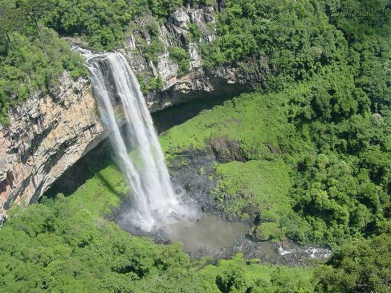 Cascato do Caracol na Serra Gaúcha