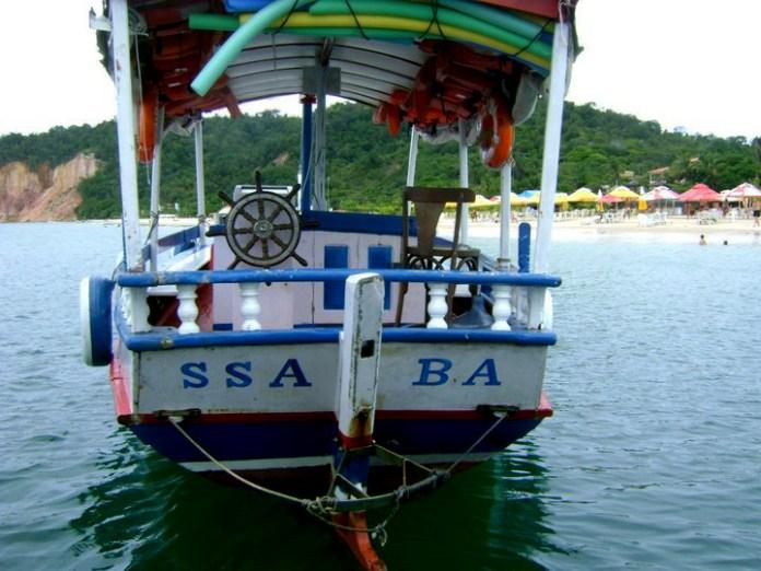 Morro de São Paulo: o transporte mais comum é feito de barco