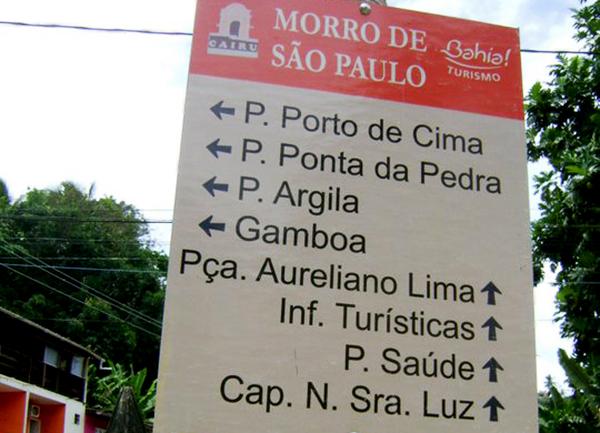 Morro de São Paulo: pontos turísticos