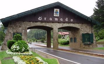 Entrada para Cidade de Gramado - RS