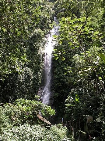 Cachoeira em Toque Toque -Celso Morais - Prefeitura de São Sebastião