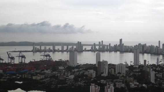 Cartagena de Índias, vista do Convento da Popa.
