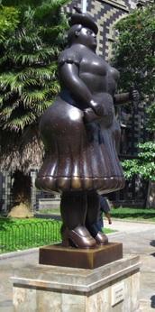 Escultura da Plaza Botero, em Medellín, Colômbia