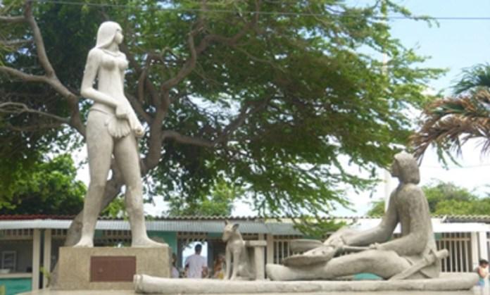 Estátua de Iracema em Fortaleza