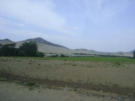 Estrada Panamericana Norte (caminho de ônibus de Lima a Trujillo)