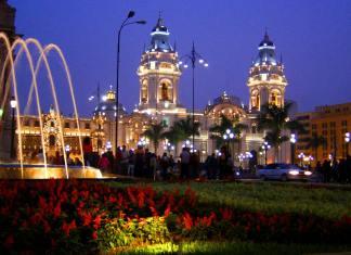 Foto de Lima no Peru