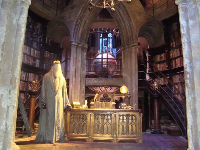 Sala de Dumbledore - The Making of Harry Potter