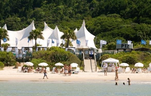 Parador 12 um dos Beach Clubs em Jurerê Internacional