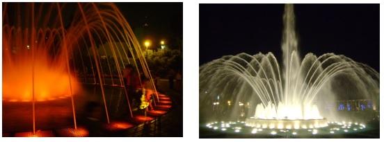 Parque de las Aguas, em Lima no Peru